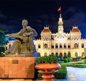 Special business airfares from Amsterdam to Hochiminh city