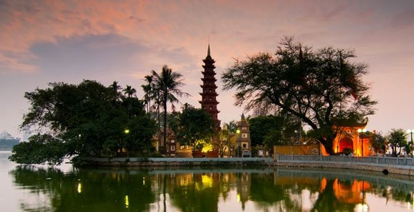 Special airfares from Amsterdam to Hanoi