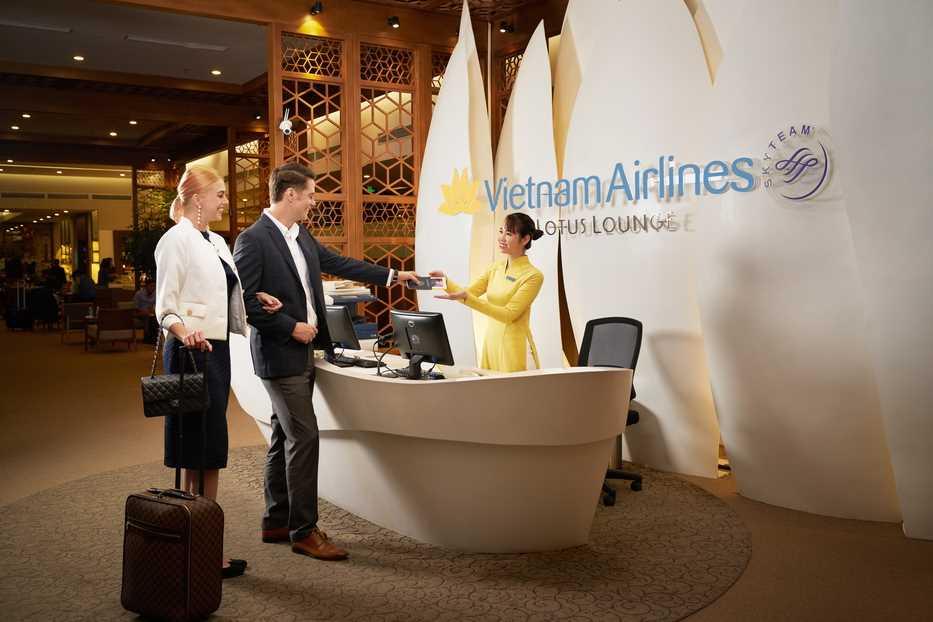 Thẻ phòng chờ Thương gia Vietnam Airlines - Quốc tế